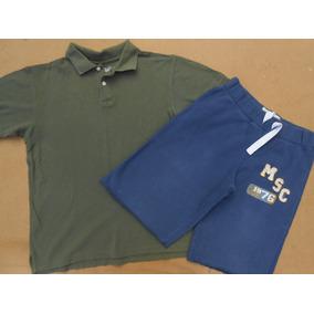 Lote Roupas Importadas Meninos 12 A 14 Anos Camisetas Calças