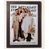 Quadros Poster Vintage Retrô Antigos C Moldura Geek Vintage