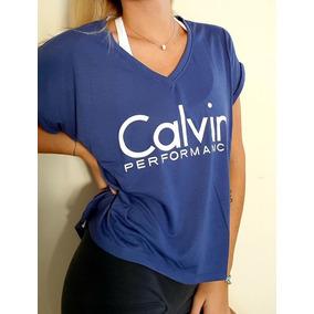 Remera Deportiva Calvin Klein Performance Mujer Originales