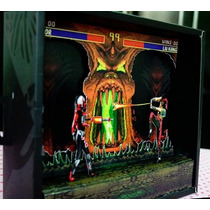 Papercraft Diorama Mortal Kombat 3 - Game - Juego