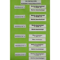 Cinta Con 50 Nombre Personalizado Ropa Etiqueta Para Coser
