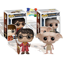 Harry Potter Dobby Set 2 Funko Pop Película Quidditch Cf