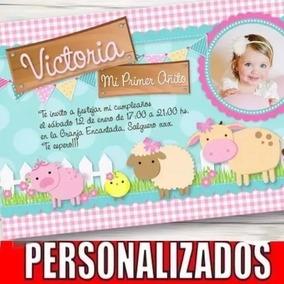 Kit Imprimible Granja Nena Golosinas Candybar Cumpleaños 4