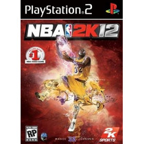 Patch Nba 2k12 Nba 2012 Jogo Basquete Playstation2 Play 2