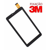 Tela Vidro Touch Tablet Qbex Zupin Tx300 Tx340i Tx340l Preto