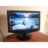 Monitor 17 Aoc 731fw, Lcd Widescreen 16:9