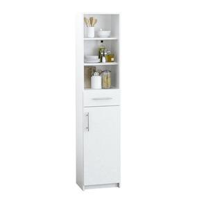 Mueble Rack Despensero G14 Puerta Cajón Estantes Cocina Baño