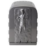 Mini Refrigerador Star Wars Han Solo En Carbonita 3d 4 Litro