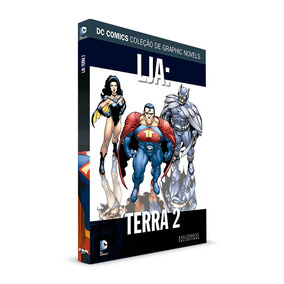 Coleção Eaglemoss - Liga Da Justiça - Terra 2 - Edição 13