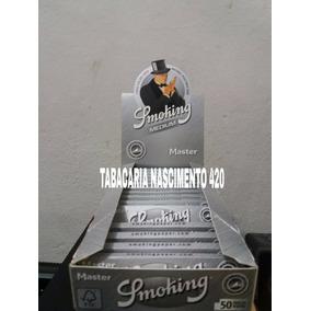 Seda Smoking Master Prata Mini Size Pequena Com 25 Frete Grá