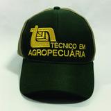 Técnico Em Agropecuária Boné Bordado Curso Agrícola Trucker