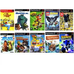 Juegos De Playstation 2 Volumen 2 X10 Unid