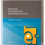 Manual Derecho Administrativo Balbin