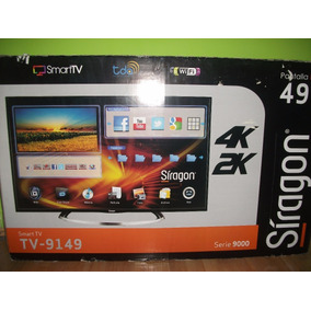 Televisor 49 Led Smart Tv 4k 2 K Modelo 9149 Tienda Virtual