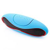 Parlante Bluetooth Inalámbrico Azul Con Batería Recargable