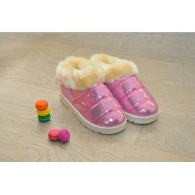 Zapatos Para Niñas Con Peluche Super Abrigadores