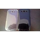 Capa Tpu Transparente Galaxy Win Duos I8552 + Película Vidro