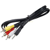 Cable 3.5mm A Rca ( Audio Y Video)