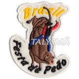 Bordado Patch Termocolante Festa De Peão Ad30121