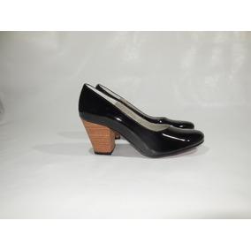 Zapato Mujer Stiletto Cuero Ecologico