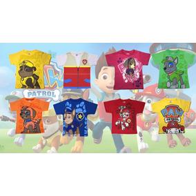 Camiseta Patrulha Canina - Nickelodeon