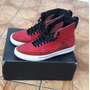 Zapatillas Supra Color Rojo-negro-blanco... Talla 10.5 Usa