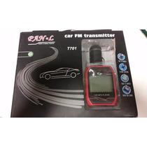 5 Pçs Transmissor Carro Veicular Radio Fm Usb Sd Mp3 Mp4