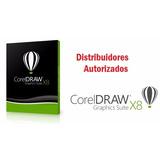 Corel Draw X8 Suite 100% Original.1 Pcs. 2 Años De Garantía.