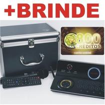Videokê Pro950 C/200 Músicas+800créditos Frete Grátis Wmusic