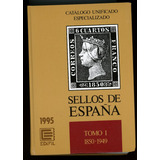 Catálogo De Sellos Postales Especializado De España 3 Tomos.
