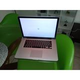 Mac Book Pro 2010 Con Falla En Sistema