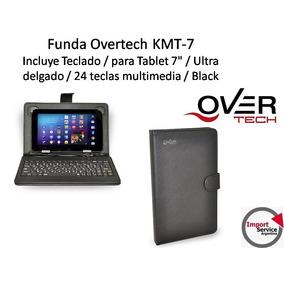 Funda Overtech Kmt-7 / Incluye Teclado - P/tablet 7 - Black