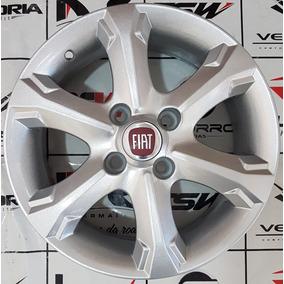 Jogo De Roda Aro 14 Fiat Strada 4x98 Frete Grátis