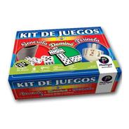 Kit De Juegos 3 En 1  Plastigal Generala Perinola Domino