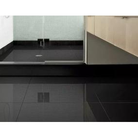 Porcelanato Negro Pulido 60x60 Eliane Importado