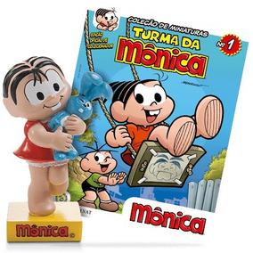 Miniatura Turma Da Mônica Salvat + Fascículo - Ed. 01 Mônica