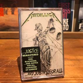 Metallica And Justice For All Edicion Cassette