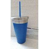 Termo Starbucks Coffee: Frappé Iron Blue 473ml. New!