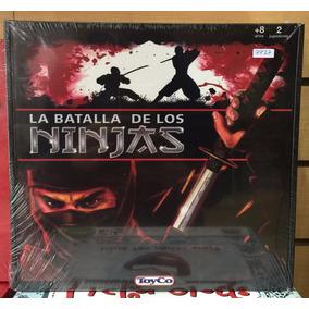 La Batalla De Los Ninjas Juego De Mesa Orig Toyco Microcentr