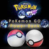 Cargador Portatil De 2 Salidas Pokebola 12000 Mah Pokemon