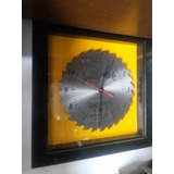Reloj Pared, Disco Sierra, Craftsman