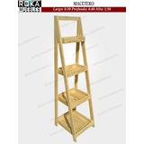 Organizador Exhibidor Estante De 0.30x1.50 Macetero Escalera