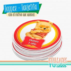 Winnie Pooh Bebé - Círculo Multiuso Para Imprimir