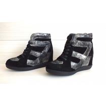 Zapatillas De Cuero Americanino Mujer N°39