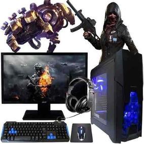 Pc Gamer Core I3 7100 Gtx 1030 2gb Hd 1tb 8gb Acer 24 N25