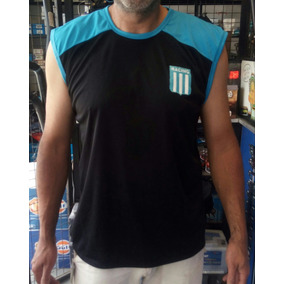 Musculosa Racing Club Tela Deportiva, Escudo Bordado