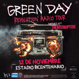 Entrada Greenday Galeria