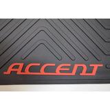 Alfombra Auto Original Hyunday Accent ,100 % Goma
