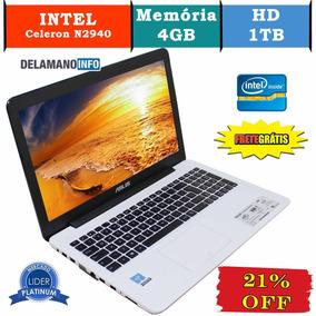 Notebook Asus Intel Celeron N2940 4g 1000gb Seminovo (10648)