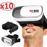 10 Pack Lentes 360º Realidad Virtual Vr Box 3d 2.0